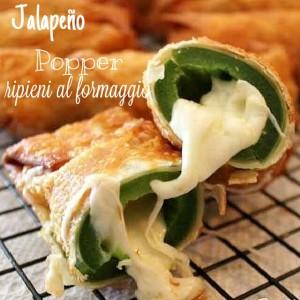 Jalapeno popper ripieni di formaggio - ricetta mexicana