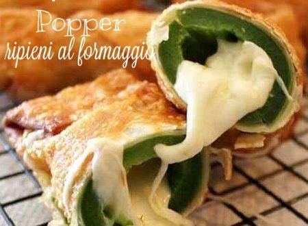 Jalapeno popper ripieni di formaggio – ricetta mexicana