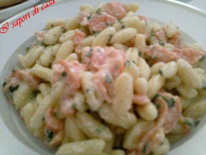 Pasta philadelphia e salmone for Cucinare per 20 persone
