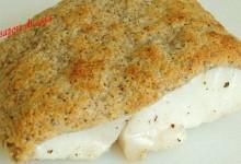 Filetto di merluzzo in crosta di mandorle