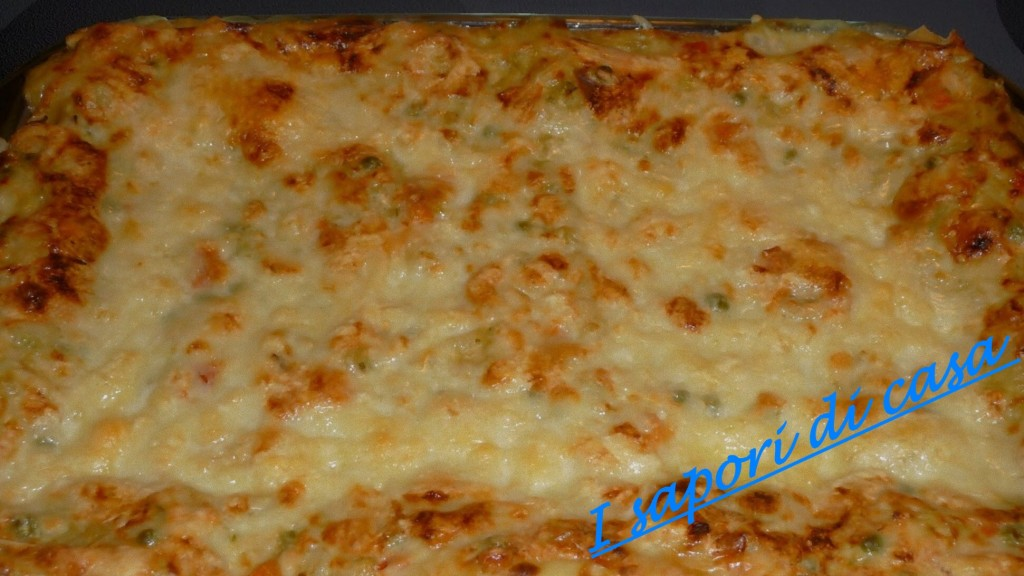 lasagna al forno con verdure e taleggio - ricetta della domenica