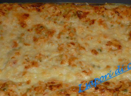lasagna al forno con verdure e taleggio – ricetta della domenica