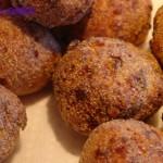 Polpette con carne e funghi
