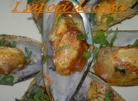 Cozze in tempura