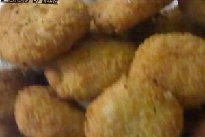 Crocchette al forno con ricotta e prosciutto cotto