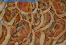 Girelle di pizza deliziose