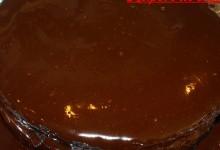 Sachertorte rivisitata con marmellata di ciliegie