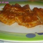 Mezze maniche con stracotto di manzo alla paprika dolce