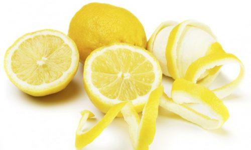 Tisana brucia grassi alla buccia di limone