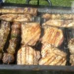 Grigliata di carne con marinata speziata