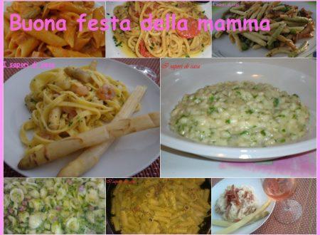 Dodici primi piatti per la festa della mamma