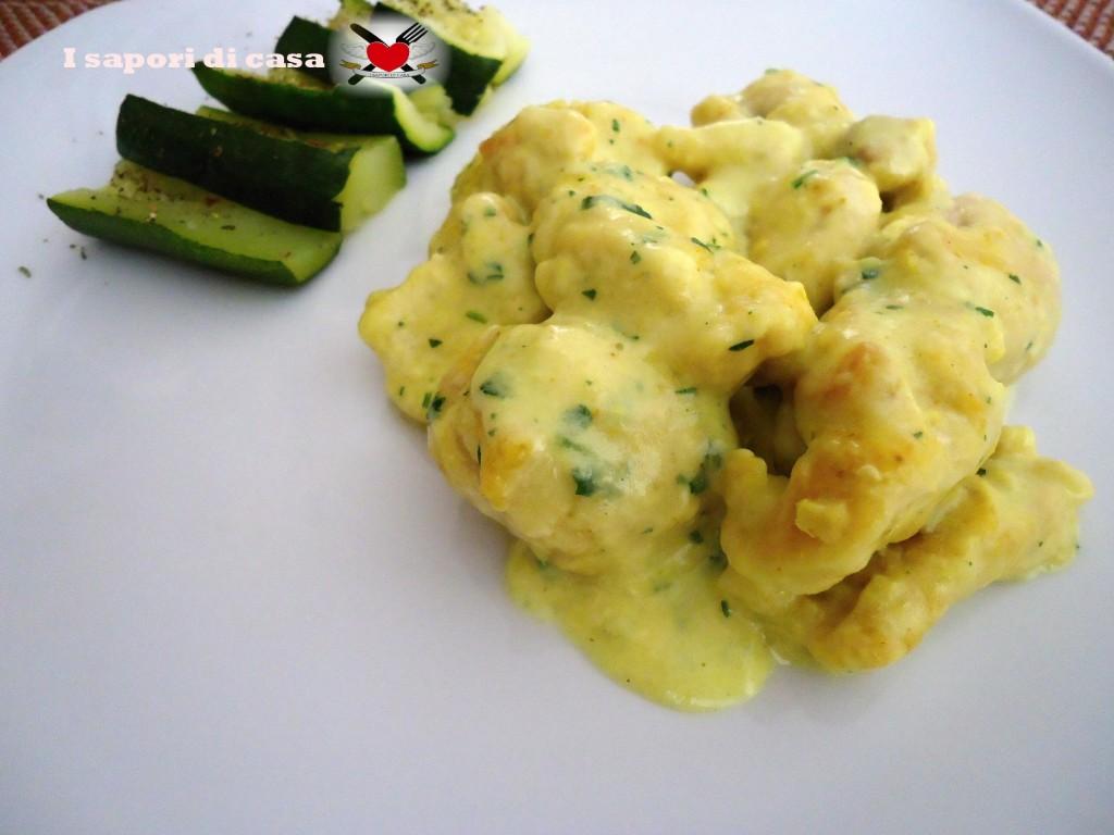 nodini di tacchino in crema light al curry