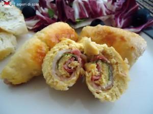 Involtini di pollo ripieni di pancetta affumicata e parmigiano