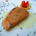 Tonno alla piastra con emulsione al sale di Guerande alle alghe