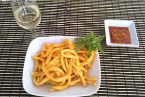 Pasta al pesto rosso ligure-ricetta primi piatti