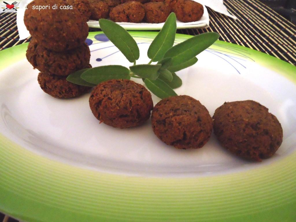 Crocchette di fagioli neri