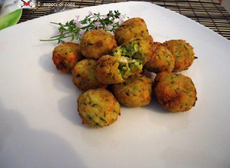 Crocchette zucchine e prosciutto cotto