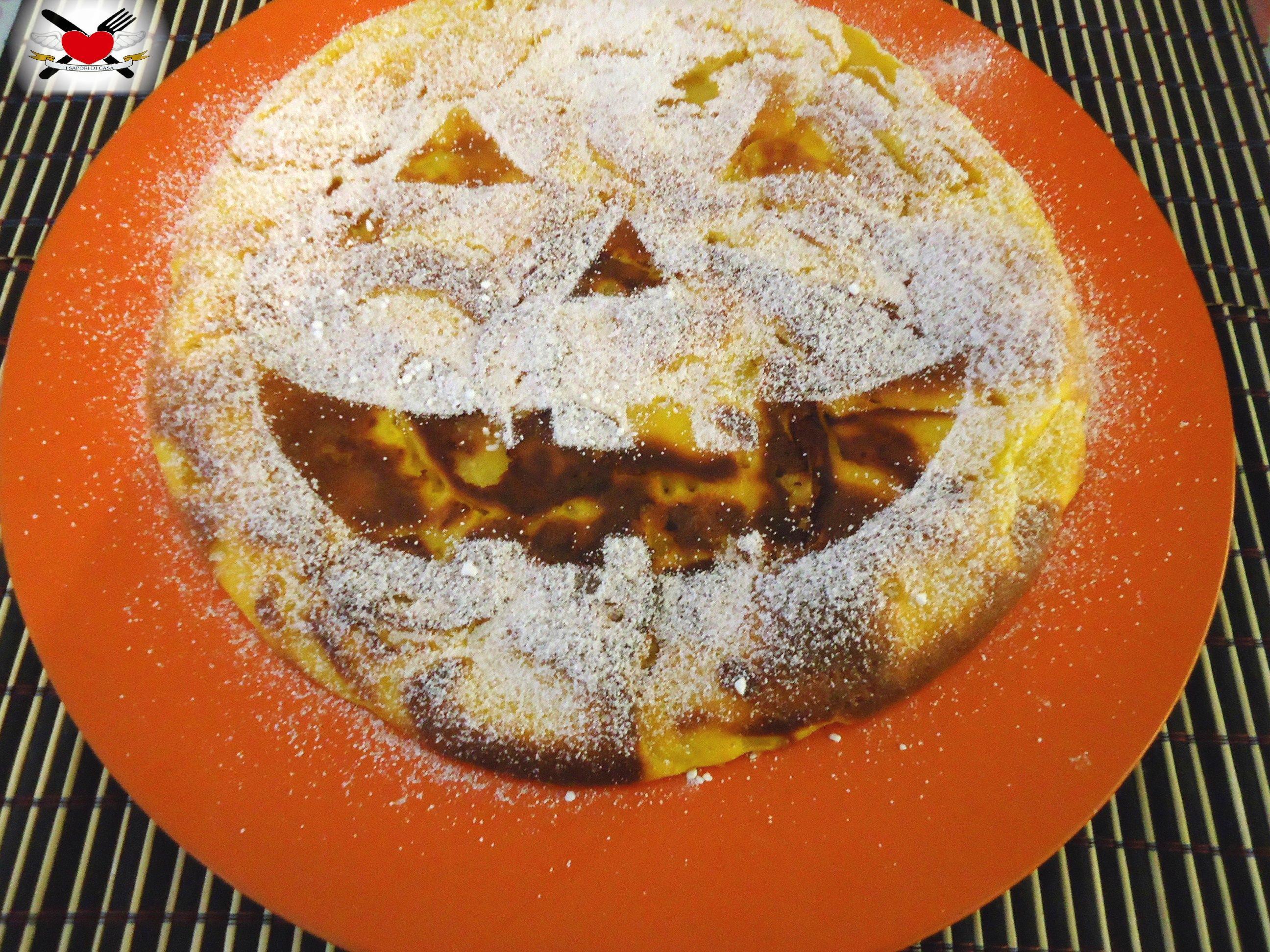 Cotizza alle mele e zenzero -torta in padella – ricetta comasca