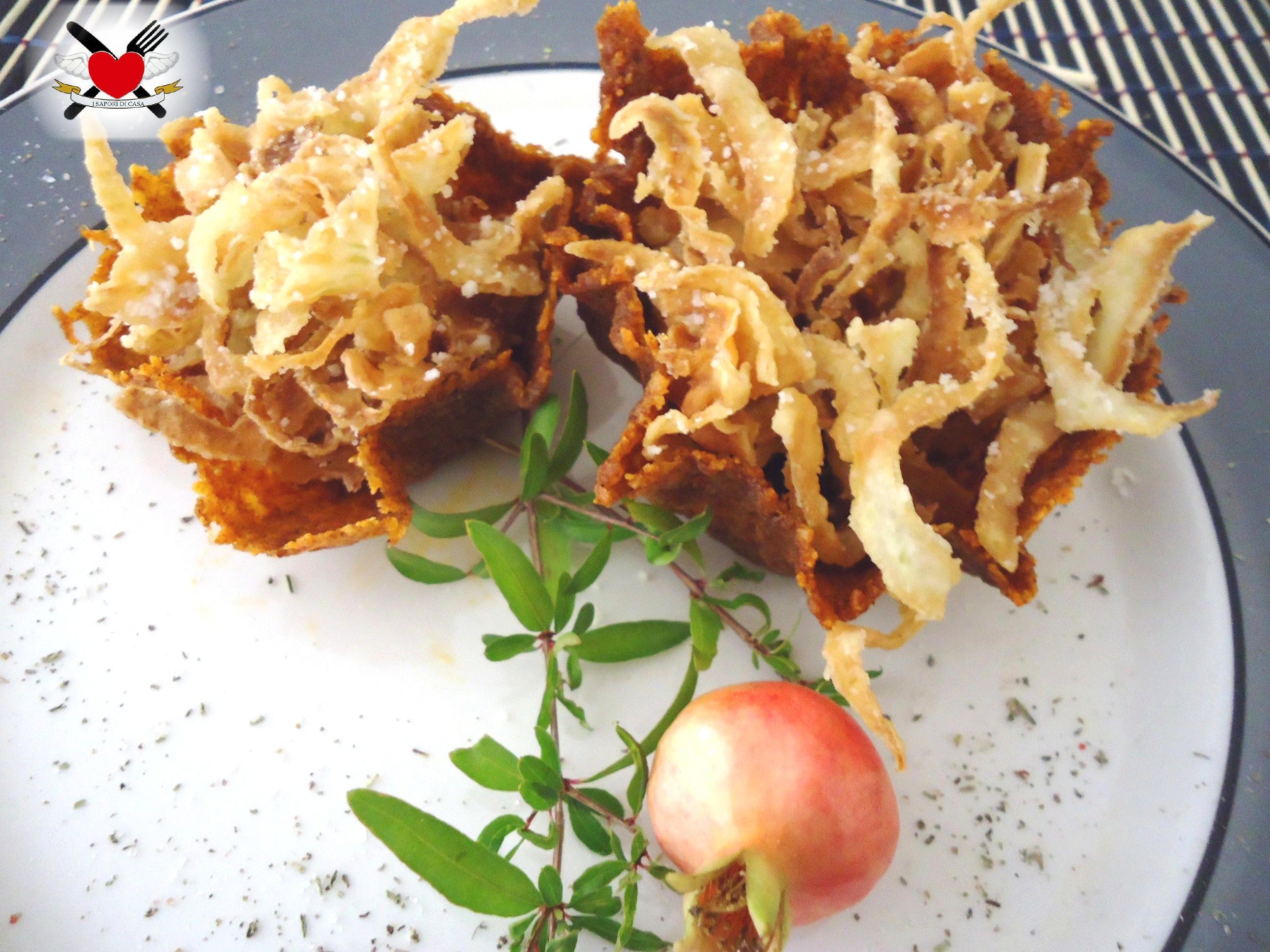 Finocchi croccanti al pecorino romano - ricetta finger food economica