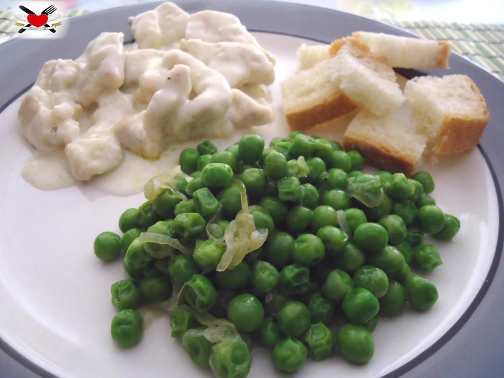 Bocconcini di tacchino con crema al gorgonzola