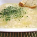Crema di patate con riso vialone nano – ricetta economica