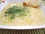 Crema di patate con riso vialone nano - ricetta economica