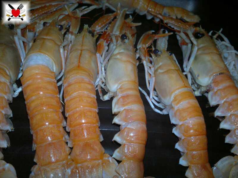 Scampi alla piastra con salsa alla menta – ricetta per la Vigilia
