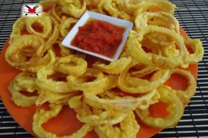 Onion rings – anelli di cipolla croccanti – ricetta americana