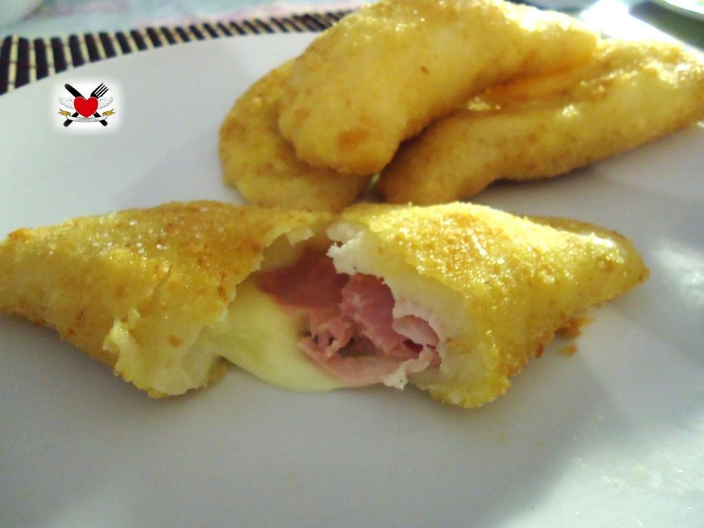 Sofficiotti con mozzarella e prosciutto cotto - ricetta golosa