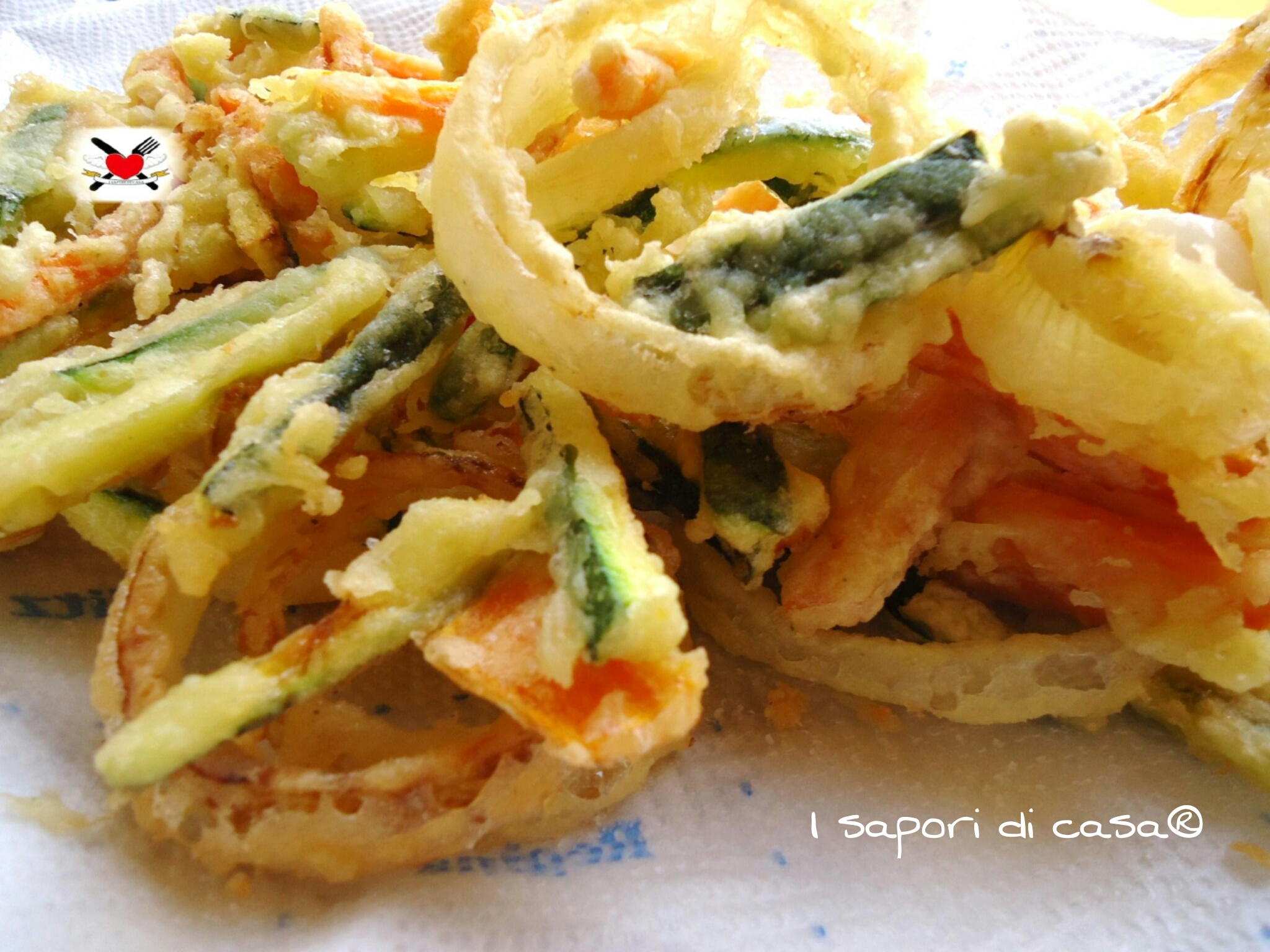 Tempura di verdure - ricetta giapponese