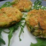 Burger di tonno a verdure cotti alla piastra