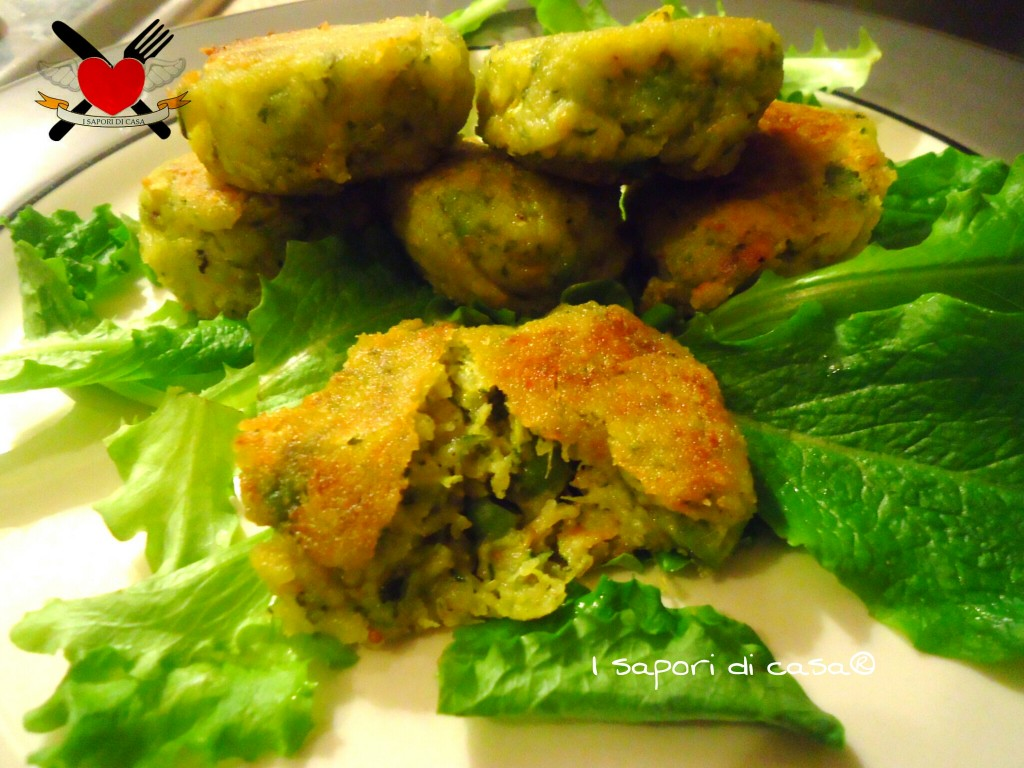 Crocchette di verdure  - ricetta leggera