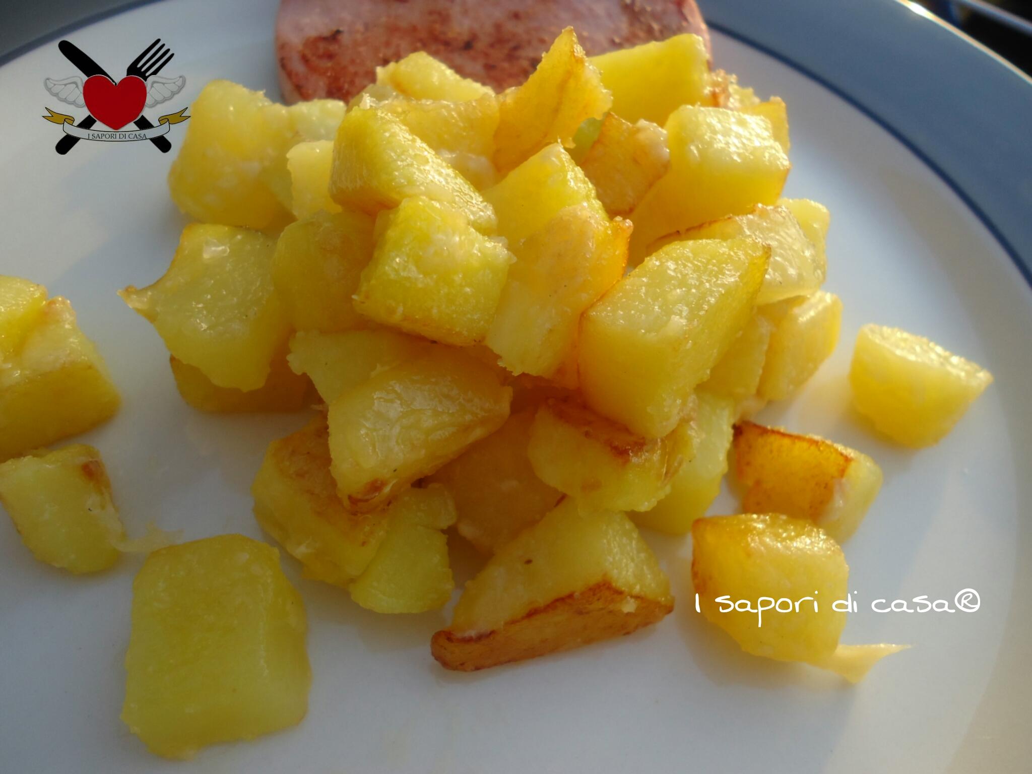 Patatine arrosto croccanti al parmigiano for Quando seminare le patate
