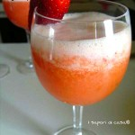 Cocktail Giannini – prosecco fragole e ananas