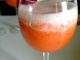 Cocktail Giannini - prosecco fragole e ananas