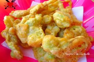 Fiori di zucchina in pastella al buttermilk – antipasto sfizioso