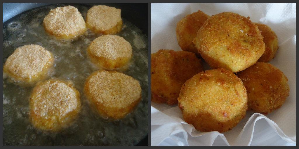 Medaglioni di patate alla viennese - finger food sfizioso