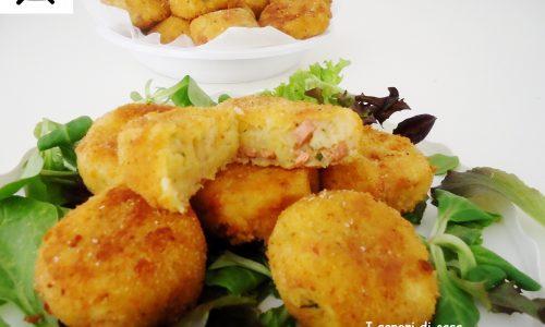 Medaglioni di patate alla viennese – finger food sfizioso