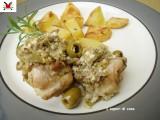 Coniglio arrosto con pinoli e olive - ricetta secondi piatti
