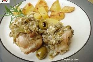 Coniglio arrosto con pinoli e olive – ricetta secondi piatti