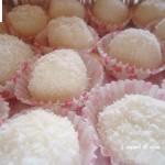 Palline cocco ricotta e limone - ricetta dolce senza cottura