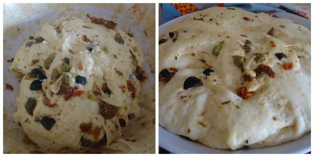 Pittule salentine alla pizzaiola