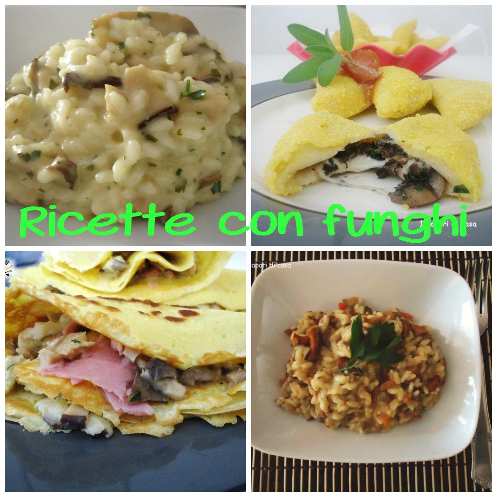 Tante ricette facili e gustose con i funghi