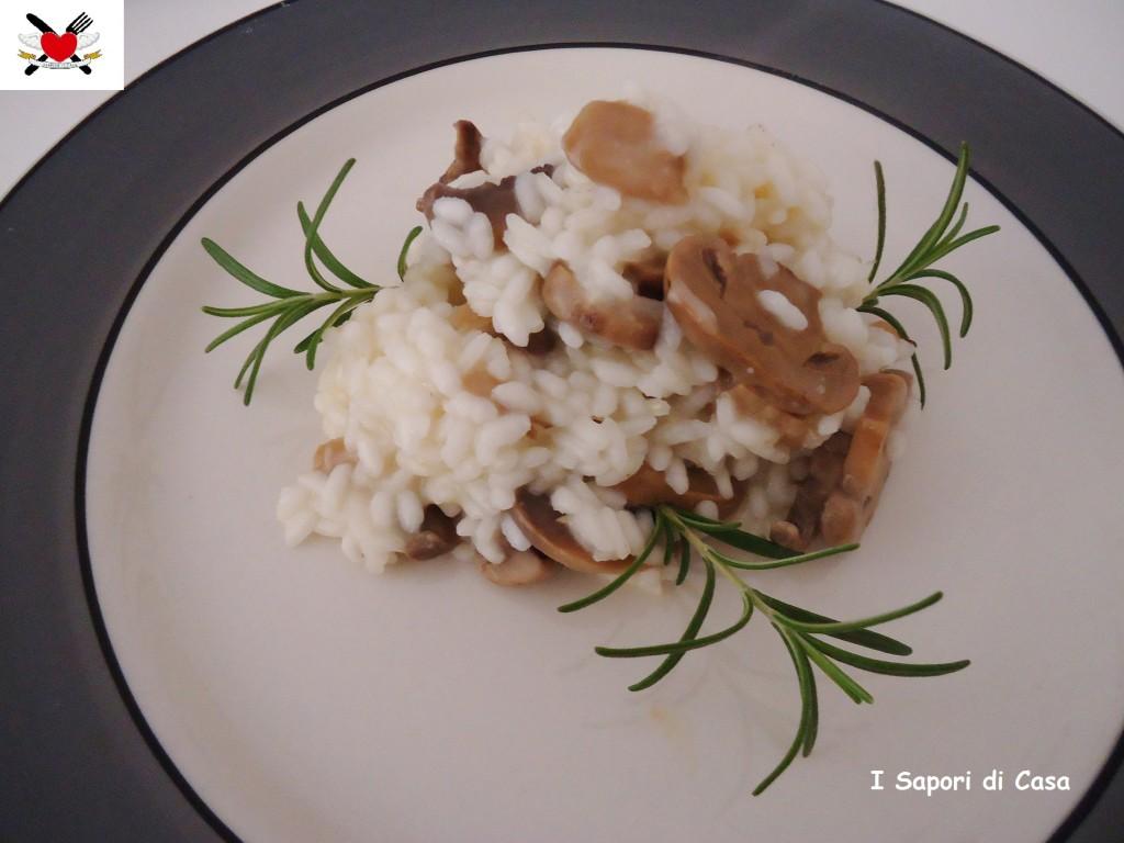 Risotto ai funghi champignon