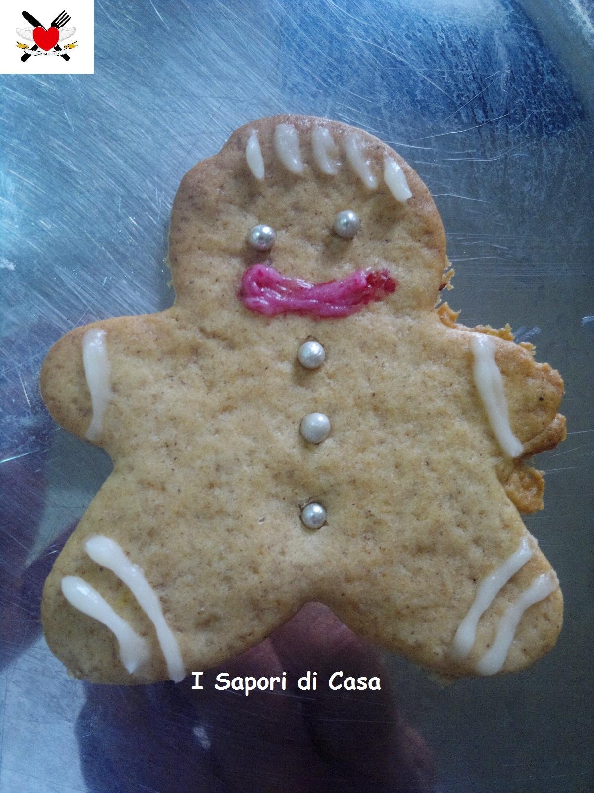 Omini di Pan di zenzero – Gingerbread