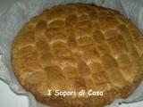 Crostata con confettura di castagne e noci