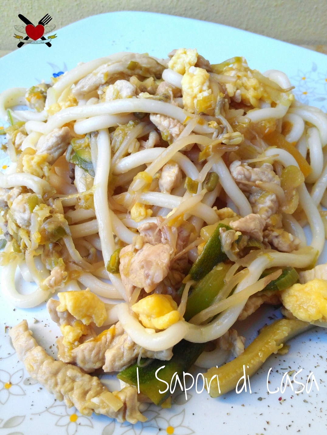 Noodles alla thailandese for Cucinare noodles