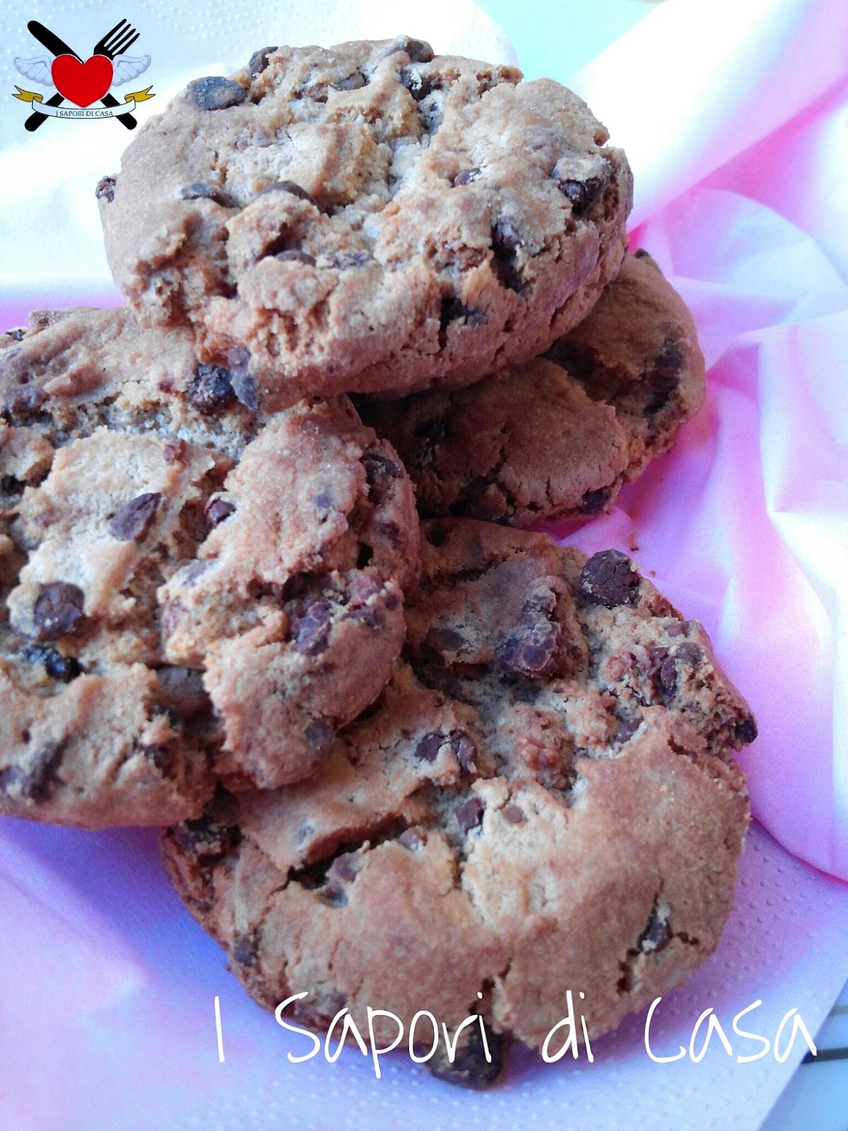 Cookies cioccolato e noci - ricetta americana
