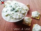 Crema bianca allo zenzero - ricetta finger food