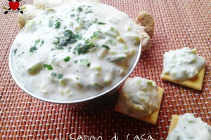 Crema bianca allo zenzero – ricetta finger food